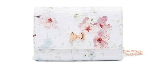 Janice oriental blossom evening bag by Ted Baker | Confetti.co.uk