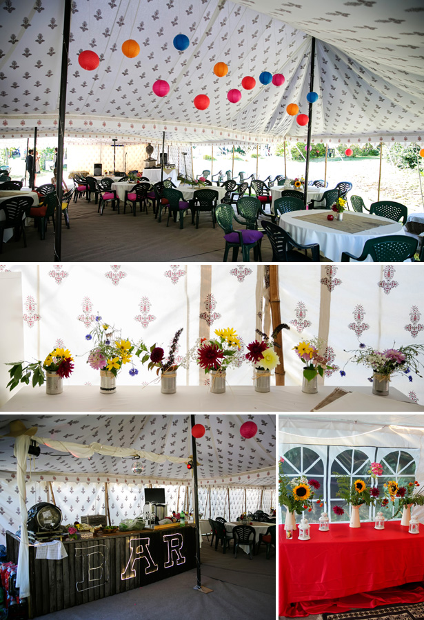 DIY Festival Wedding | Confetti.co.uk