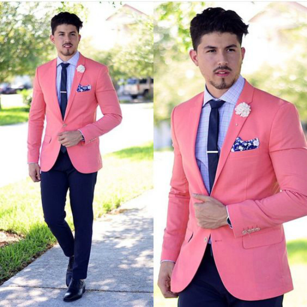 The Groom Who Wore Pink | Confetti.co.uk