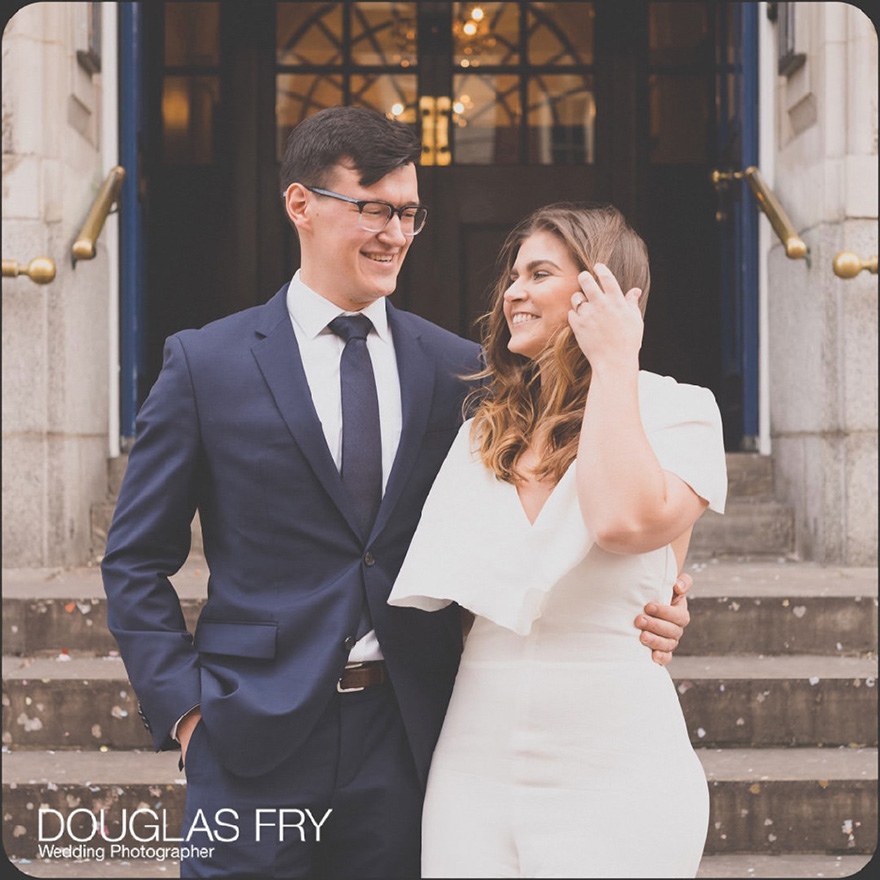 Engagement shoot courtesy of Douglas Fry Photography - Win Your Dream Wedding 2018