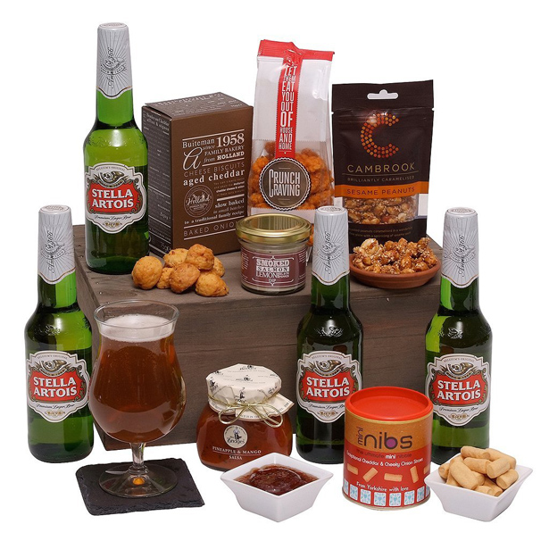 Beers and bites hamper | Confetti.co.uk