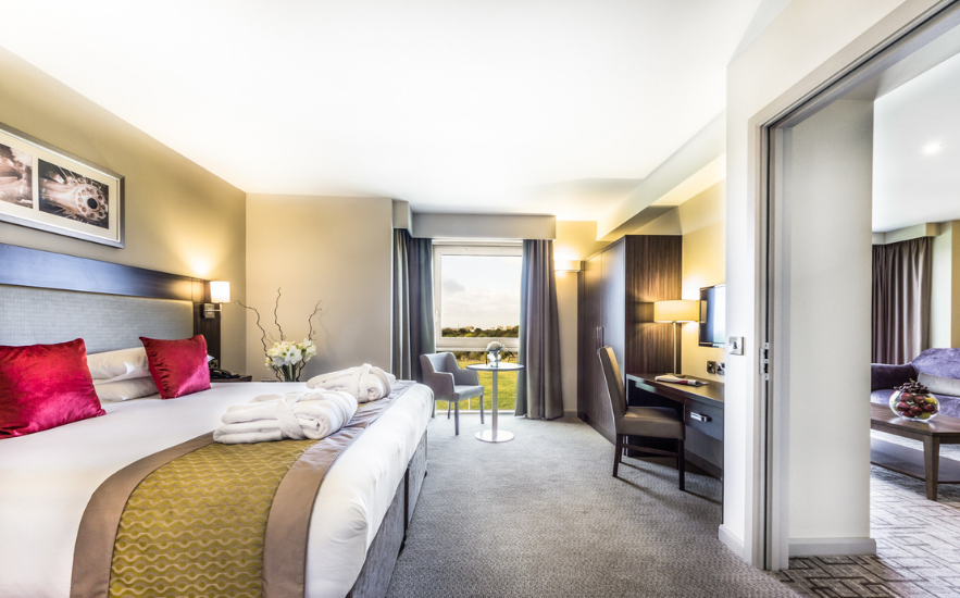 Guest accommodation at Heston Hyde Hotel