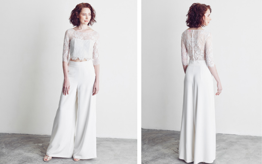 two piece wedding suit