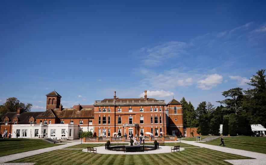 Oakley Hall Hotel wedding venue