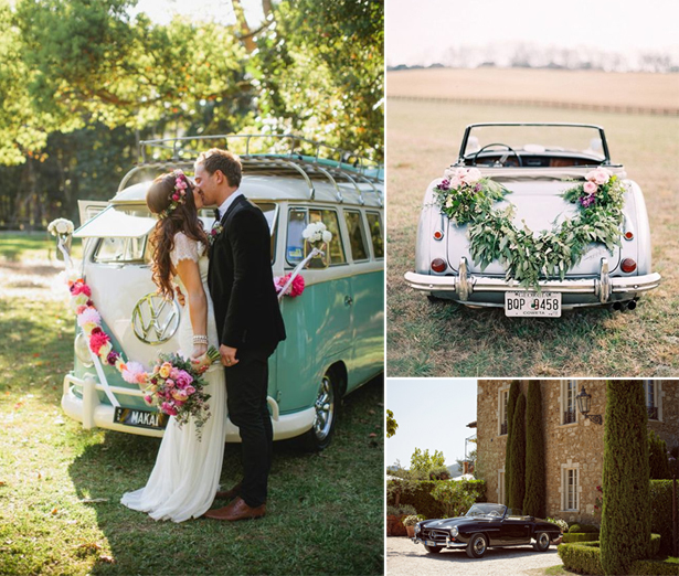 Boho Wedding Transport | Confetti.co.uk