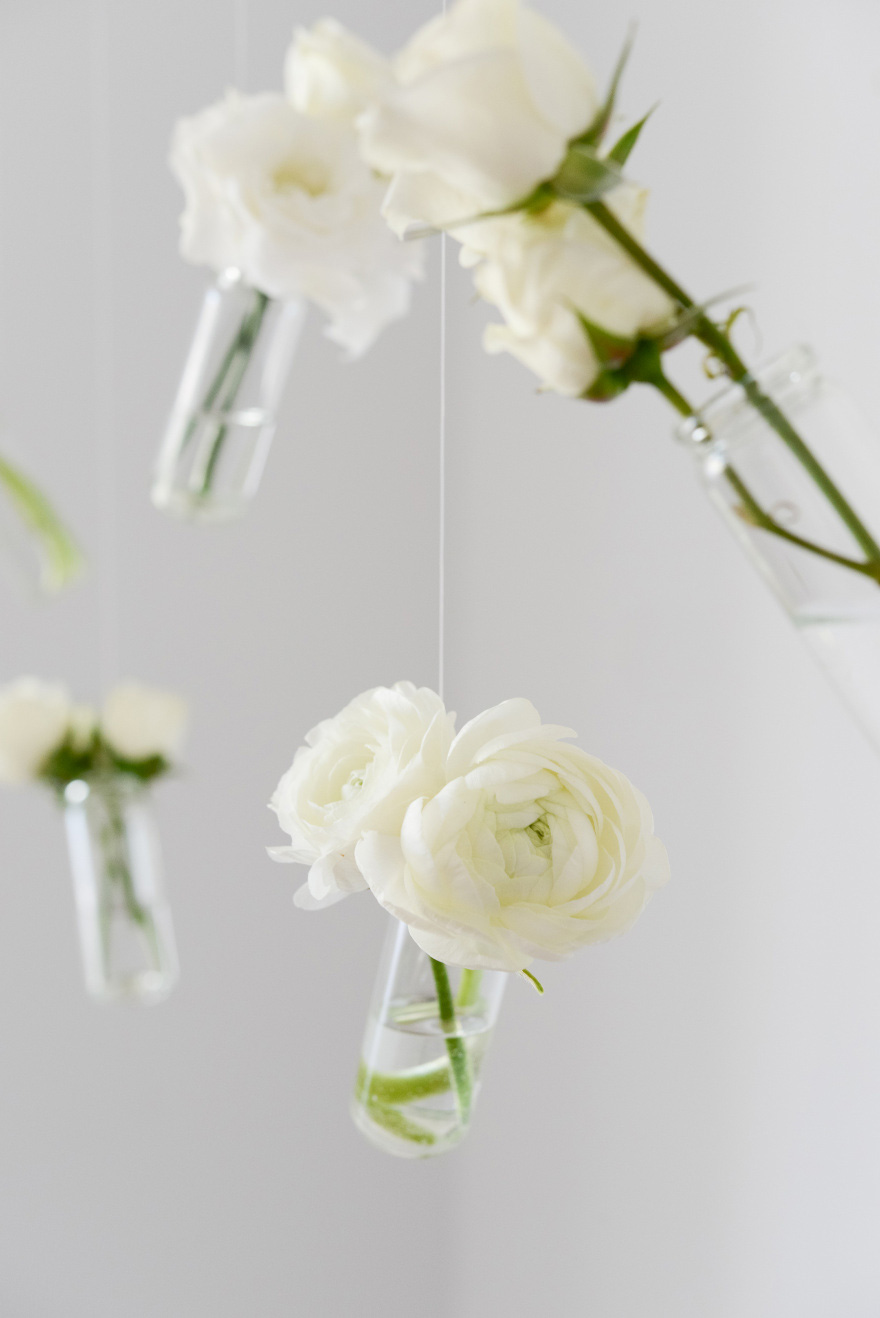 Hanging Vases DIY | Confetti.co.uk