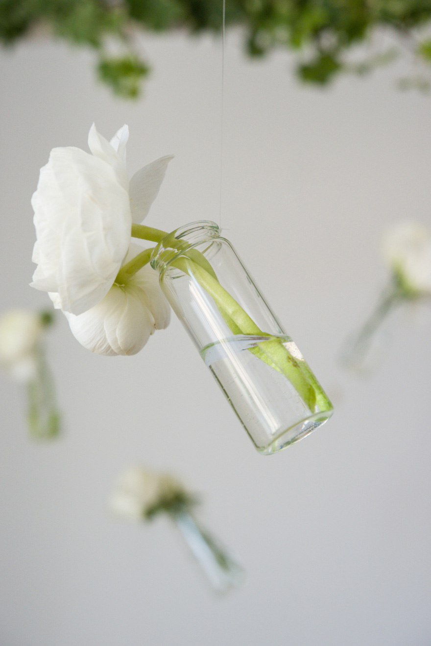 Mini Flowers and Bottles Decorations | Confetti.co.uk