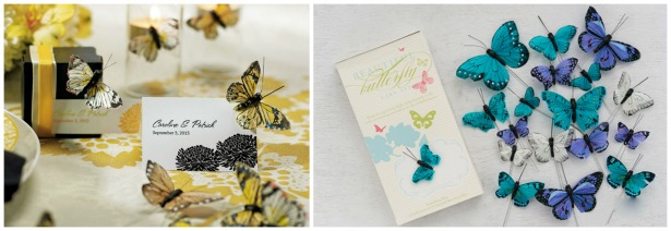 DIY wedding butterfly trims | Confetti.co.uk