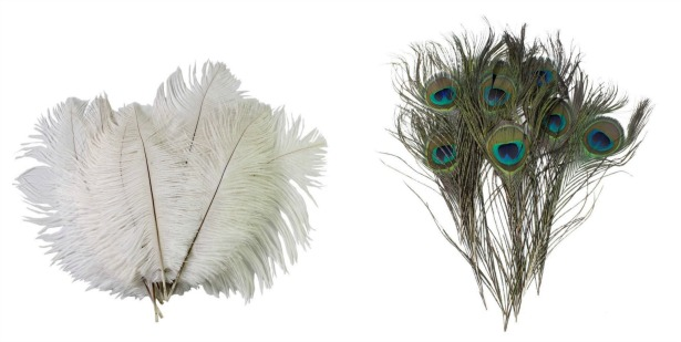 Natural feathers for DIY weddings | Confetti.co.uk