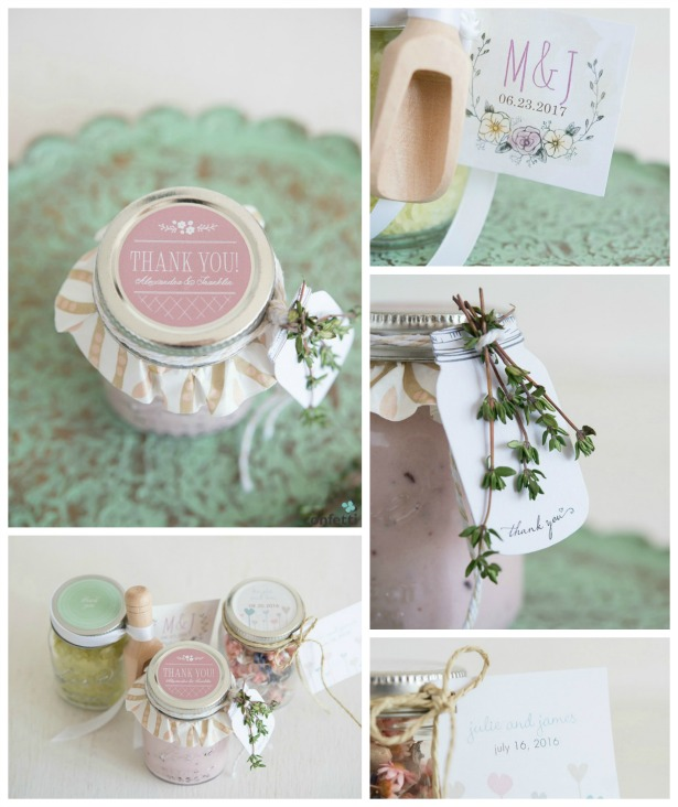 DIY wedding favours tutorial with mason jars | Confetti.co.uk