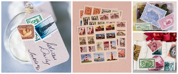 DIY wedding global stamps sticker assortment | Confetti.co.uk