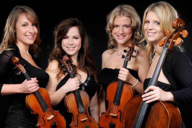 Flower Quartet live wedding bands hire at Entertainment Nation | Confetti.co.uk
