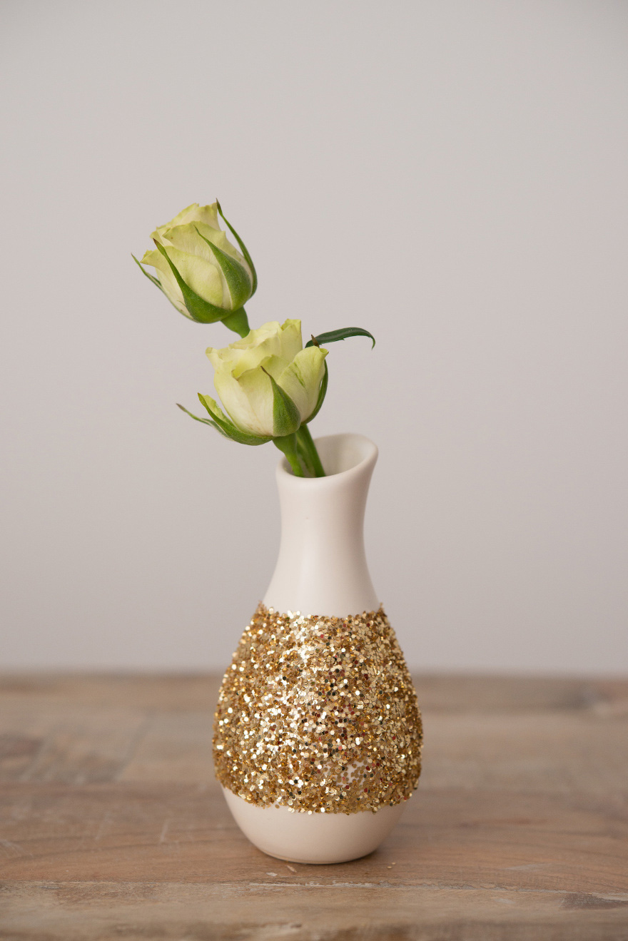 Mini Glitter Pattern Vase | Confetti.co.uk