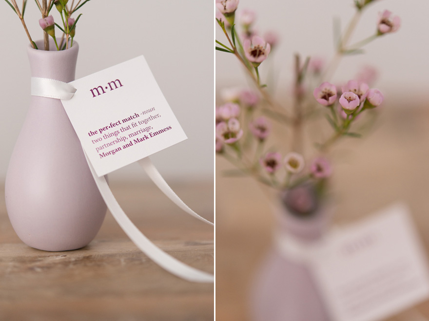Pastel Pink Flower Vases | Confetti.co.uk