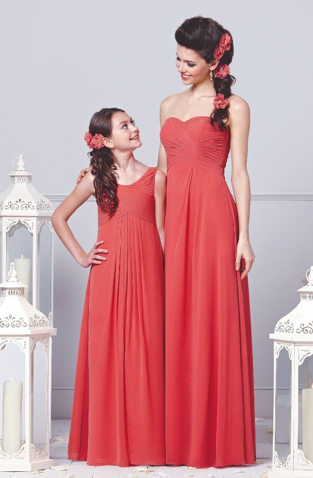 Veromia bridesmaid dresses in styles DAF21350 and DAB11350   Confetti.co.uk