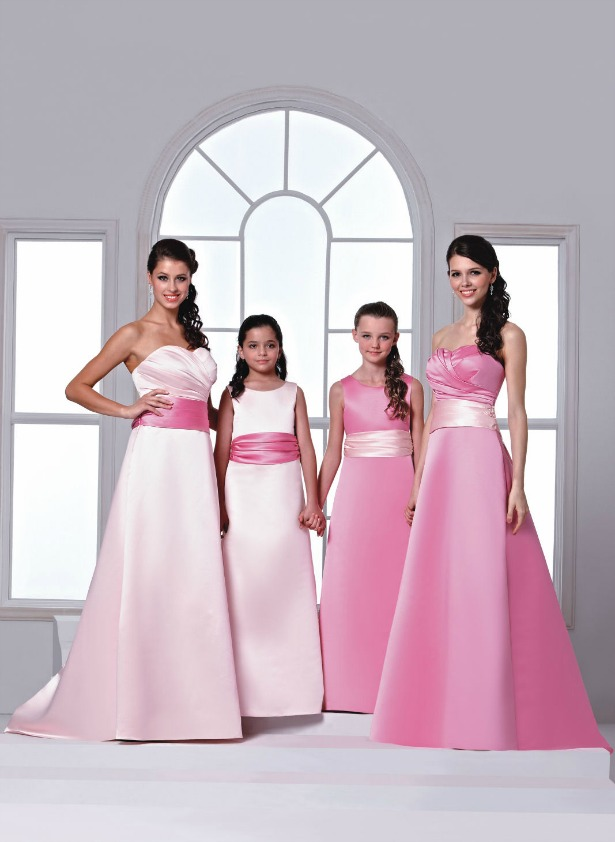 Veromia Bridesmaid dresses in styles DAB11254 and DAF21251   Confetti.co.uk