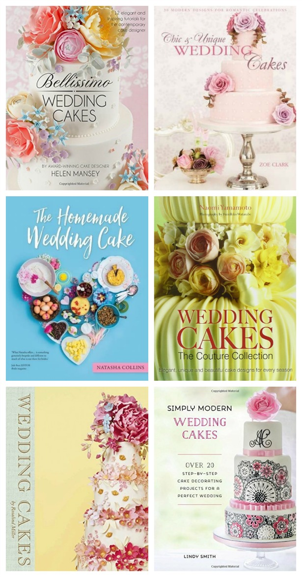 Best books on how to make your own wedding cake | Confetti.co.uk