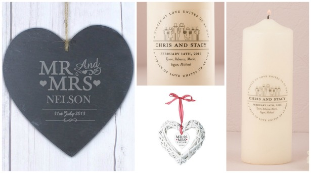 Personalised wedding decorations | Confetti.co.uk