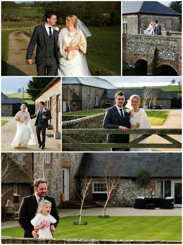 Private Photography Of Bride And Groom Outside The Venue | Confetti.co.uk