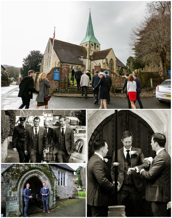 Groom Waits For His Wife At A Gorgeous Church Wedding Venue | Confetti.co.uk