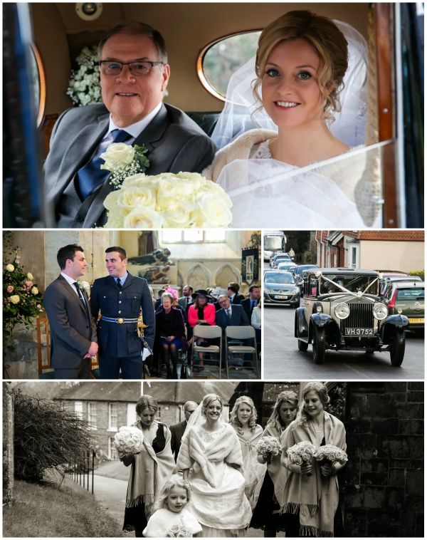 Bride And Her Father Travel To Her Gorgeous Wedding | Confetti.co.uk