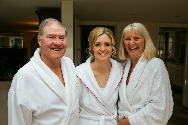 Bride And Her Parents Getting Ready For The Wedding | Confetti.co.uk