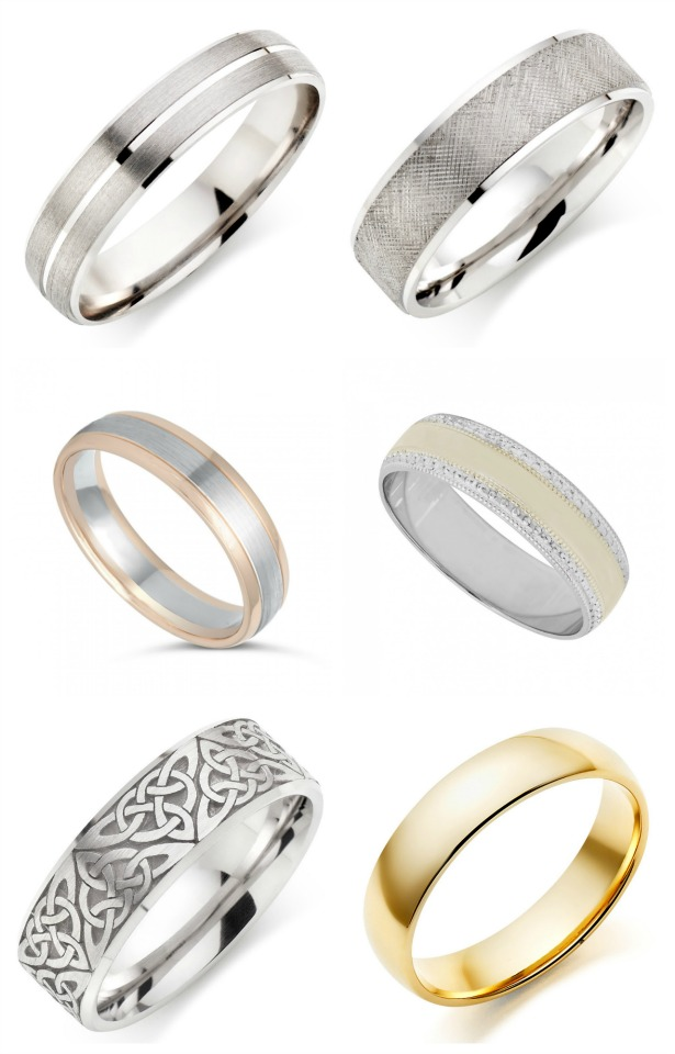 Wedding rings fro men by Beaverbrooks and Fraser Hart | Confetti.co.uk