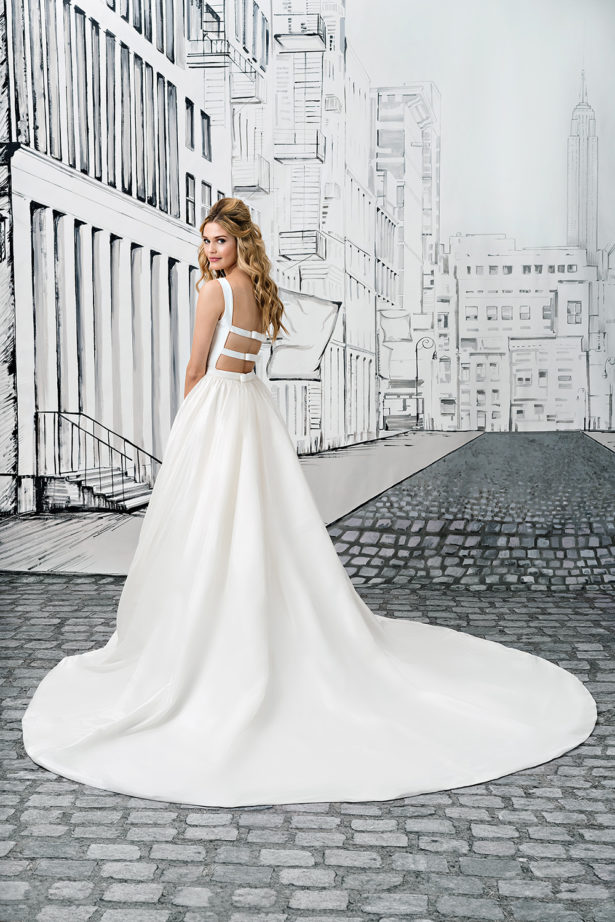 Ballgown with Open Back by Justin Alexander Style 8877 | Confetti.co.uk