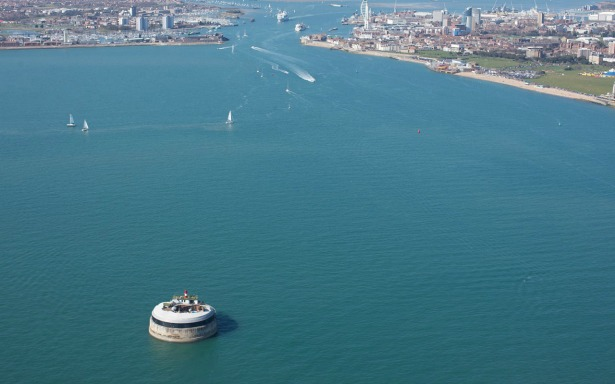 The view of the Solent Forts | Confetti.co.uk