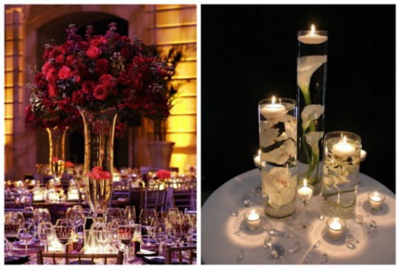 Solavia tall glass vase centrepiece ideas | Confetti.co.uk