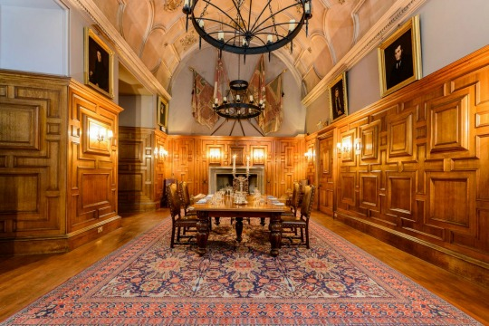 The Great Hall at Ackergill Tower Scotland | Confetti.co.uk