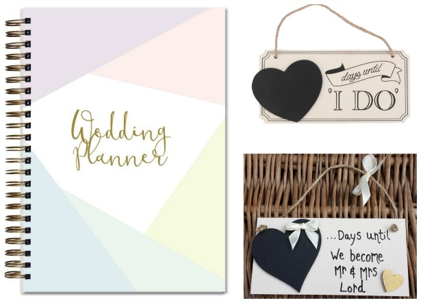 Bespoke wedding planner and wedding countdown signs | Confetti.co.uk