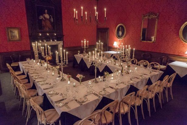 The State Dining Room at Brympton House   Confetti.co.uk