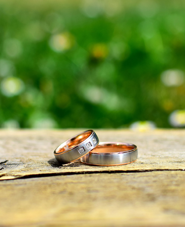 Wedding Rings in the woods by Woodland Trust | Confetti.co.uk