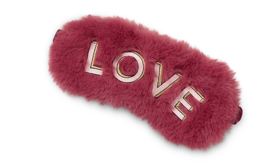 Love sleep mask for Galentine's Day