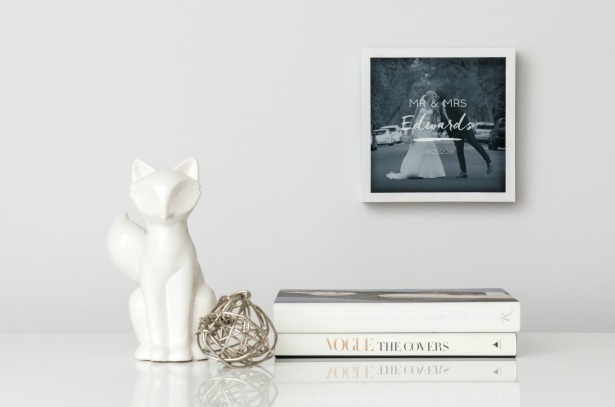 A Memory in a Stylish Frame | Confetti.co.uk