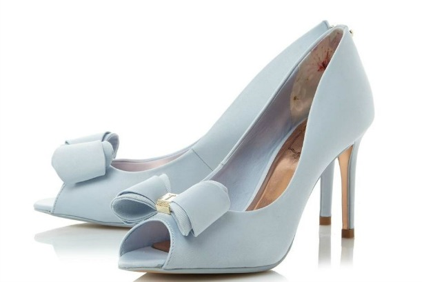 Alifair bow-peep-toe shoe by Ted Baker | Confetti.co.uk