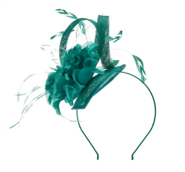 Petite feather fascinator by Jaques Vert | Confetti.co.uk