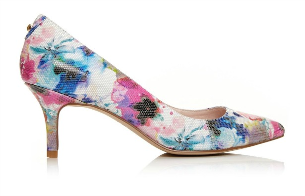 Cambree floral high heels | Confetti.co.uk