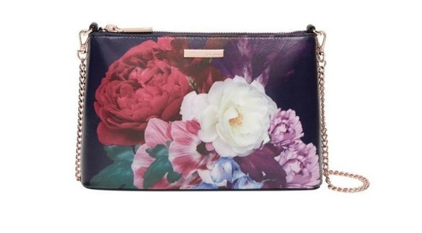 Narla blushing bouquet leather bag by Ted Baker | Confetti.co.uk