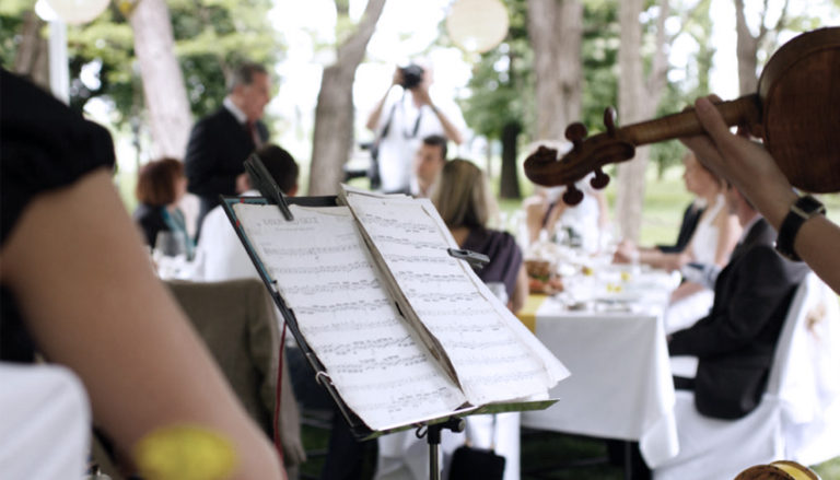 Choosing Live Music for Your Wedding Reception | Confetti.co.uk