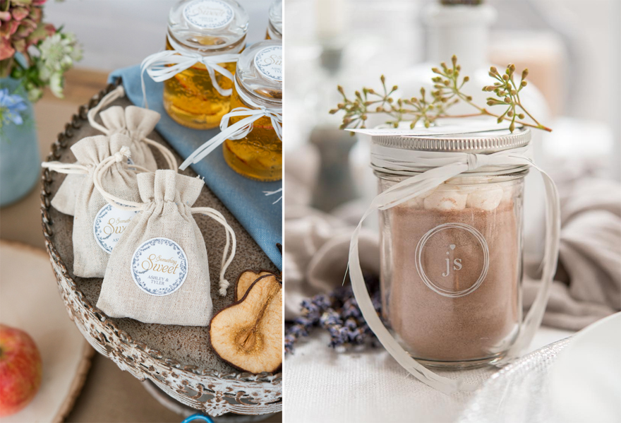 DIY Wedding Favours for Autumn and Winter | Confetti.co.uk