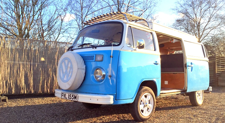Tilly - 1973 VW Type 2 Campervan by The GlamperVan Hire Company | Confetti.co.uk