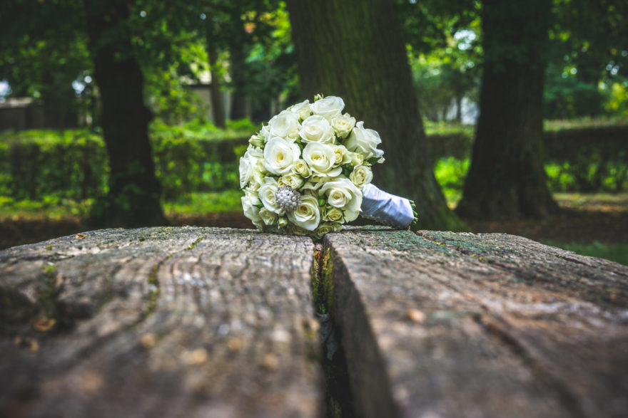 Bouquet in woodland Rustic wedding ideas with The Woodland Trust | Confetti.co.uk