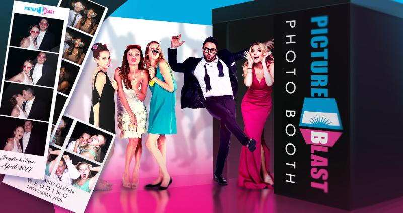 PictureBlast photo booth at weddings
