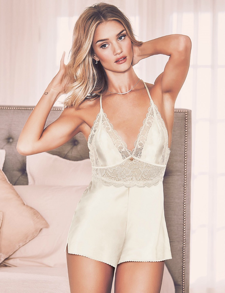 Bridal lingerie silk lace teddy by M&S | Confetti.co.uk