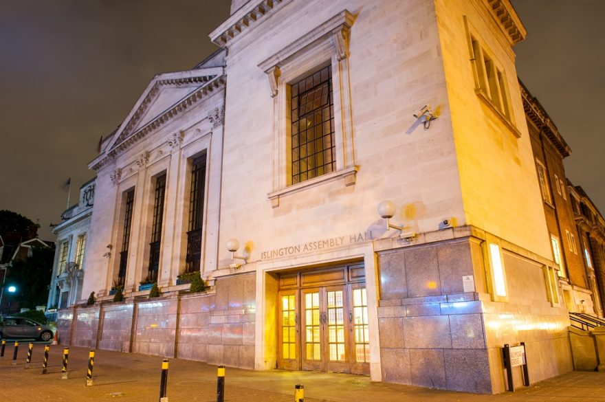 Islington Assembly Hall London wedding venue - Win Your Dream Wedding 2018