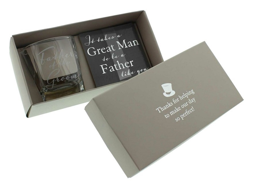 Father of the bride gifts whiskey glass | Confetti.co.uk
