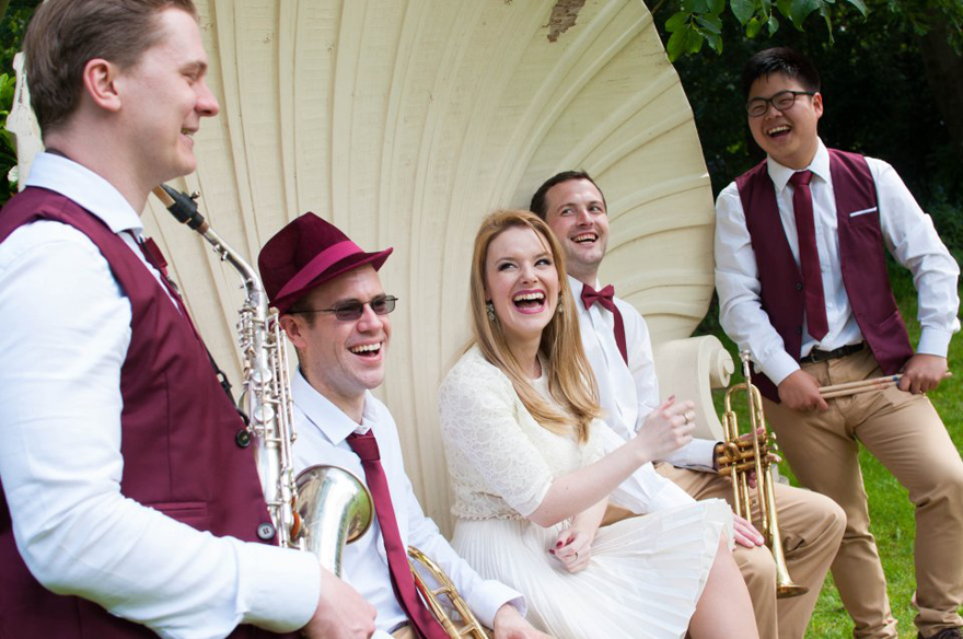 Warble Entertainment Jazz Band