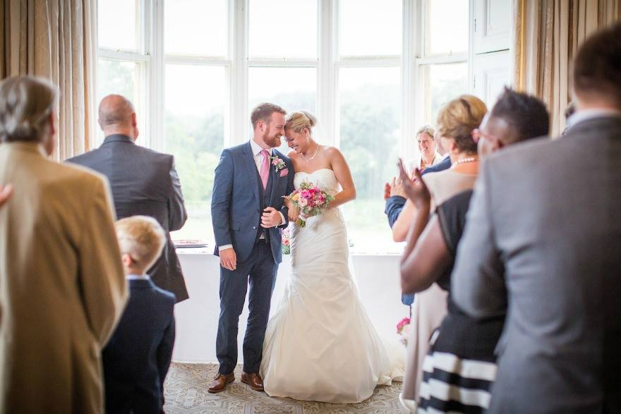Jessica and Ed's wedding at Clevedon Hall | Confetti.co.uk